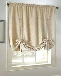 Tie Up Valance Curtains Catchy Tie Up Valance Kitchen Curtains Decor With Kitchen Swag