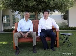 obama gifts xi with redwood bench