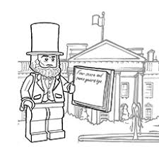 lincoln coloring pages 25 wonderful lego movie coloring pages for toddlers