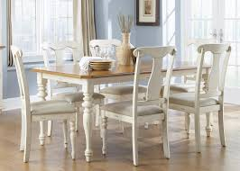 liberty furniture ocean isle 7 piece rectangular table and chair