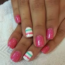 simple pink nail designs nails pinterest pink nails pretty