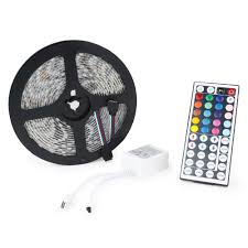 Led Strip Lights Remote Control by 5m 5050 Smd Led Strip Light With Remote Wyz Works