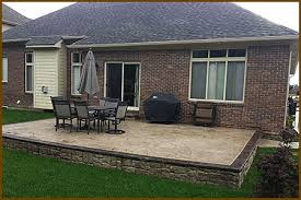 Cost Of Stamped Concrete Patio by Michigan Stamped Concrete Patios Design Installation Concrete