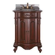 24 Inch Bathroom Vanities And Cabinets Avanity Provence Single 24 Inch Traditional Bathroom Vanity