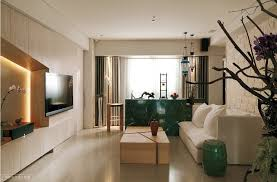 Asian Living Room Interior Design Sleek And Comfortable Asian - Modern chinese interior design