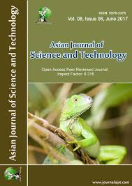 about us asian journal of science and technologies