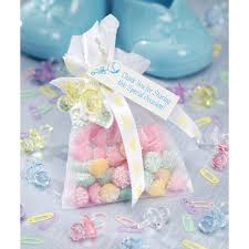 small organza bags baby shower favor bags small organza bags with pink ribbon