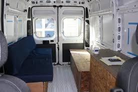 Conversion Van With Bathroom Our Promaster Camper Van Conversion Interior Layout Build A