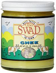 amazon com swad pure ghee clarified butter 8 ounce baking and