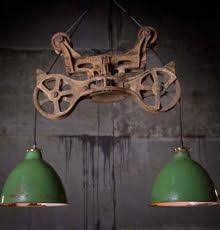 Antique Barn Lighting Fixtures Pulley Light Industrial Hanging Hay Pulley Light Let There Be