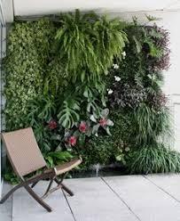 jardim vertical com chuveirão para dias quentes jardins pátios