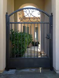 custom courtyard entry gates el dorado ca vintage iron