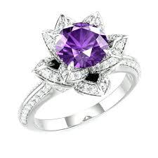 amethyst wedding rings amethyst wedding ring s amethyst wedding rings white gold slidescan