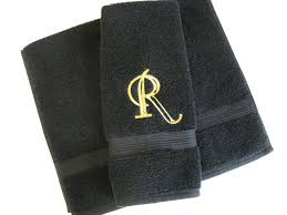 Gold Bathroom Decor by Custom Towels Hand Towel Bathroom Personalized Gift