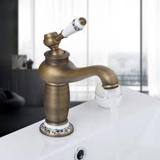 Antique Faucet Parts Bathrooms Design Widespread Waterfall Bathroom Faucet Antique