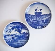 royal copenhagen grondahl plaquettes mini wall plates