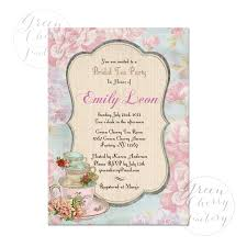 alluring mad hatter tea party email invitations features party