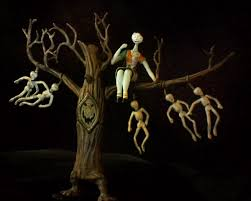 the nightmare before christmas sally and the hanging tree