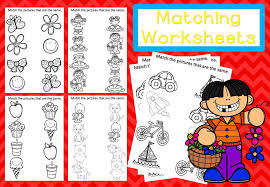 free matching worksheets u2013 mash ie