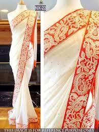 stylish designer party wear saree promo code eid10 shop now at
