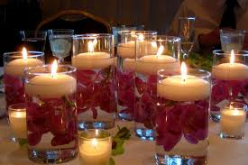 table decorations for weddings without flowers wedding of with