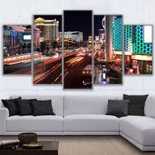 Las Vegas Home Decor by Online Get Cheap Las Vegas Canvas Aliexpress Com Alibaba Group
