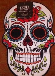 new sugar skull rugs tattoo art day of the dead inspired