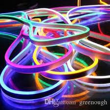 low voltage strip lighting outdoor dc24v led neon light single color bar signs smd2835 flex strip led
