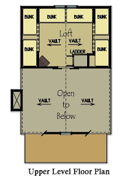 cabin home plans with loft small cabin plan with loft bunk rooms cabin floor plans and cabin