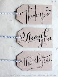 thank you tags concertina press stationery and invitations diy printable
