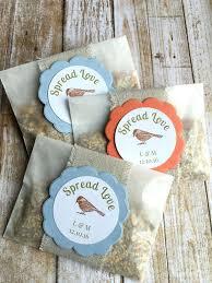 bird seed wedding favors wedding slogans for favors lyfy me