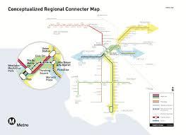 Metro Rail Map Los Angeles by Metro Board Certifies Final Environmental Study For Regional