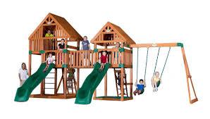 cedar swing sets journey wooden swing set cedar color swing set