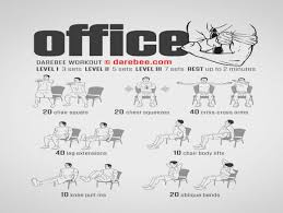 Exercise At The Office Desk How Will Exercise At The Office Desk Be In The