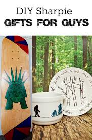 gifts for guys diy sharpie gifts for guys diy skateboard bigfoot gift set