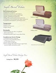 funeral packages o donnell funeral home inc hannibal mo