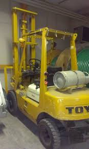 yellow toyota truck toyota propantruck type 42 2fg25 for sale retrade offers used