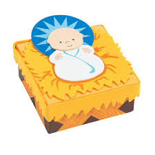nativity prayer box craft kit orientaltrading com ornaments