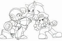 sonic and mario coloring pages pretty color pages aecost net aecost net