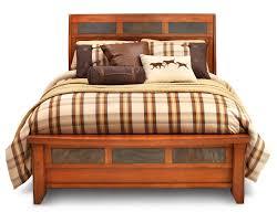 aspen sleigh bed furniture row