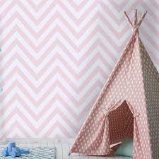 kids wallpaper holden chevron striped pattern childrens wallpaper pastel stripes