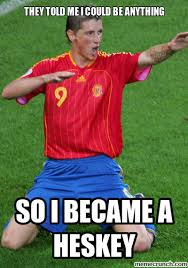 Fernando Torres Meme - torres is heskey for soccer memes