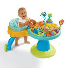 infant activity table toy amazon com bright starts around we go activity station doodle bugs