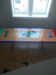custom beer pong tables so i just got my custom space jam beer pong table made by jova