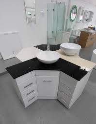home decor corner vanity units with basin grey bathroom wall