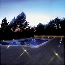le de terrasse encastrable encastré de sol rond pour terre ou béton encastré de sol