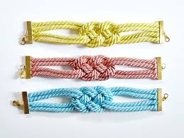 knot cord bracelet images How to make knotted cord bracelet diy crafts handimania jpg