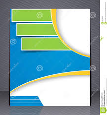 brochure templates for business free download layout business brochure template or magazine co stock vector