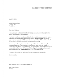 cover letter covering letters for resume covering letter for