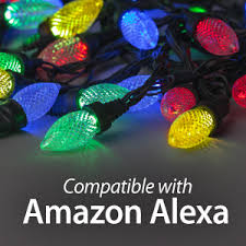 amazon echo compatible lights amazon alexa voice control rhapsody indoor holiday string lights